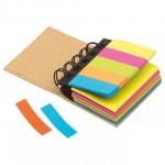 Haftnotiz/Marker-Set Ringbuch inkl. 1-farbigem Druck