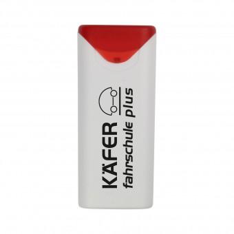Pflasterbox Care, Weiß/Rot inkl. 1-farbigem Druck weiß/rot inkl. 1-farbigem Druck
